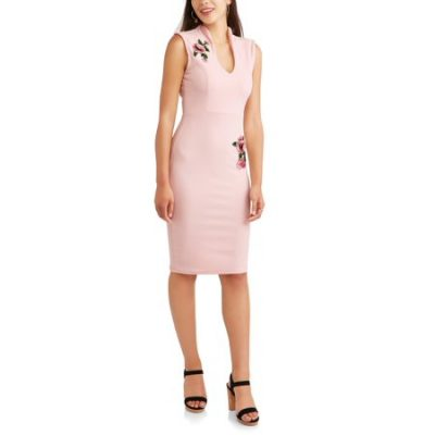 Walmart – Almost Famous Juniors' Sleeveless Drop Shoulder Dress with 3D Rose Applique and Pearls Only $10.00 (Reg $14.98) + Free Store Pickup