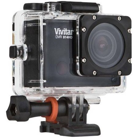 Walmart  – Vivitar Black Action Camcorder 2″ LCD and Waterproof Capabilities Only $76.45 (Reg $99.99) + Free Shipping