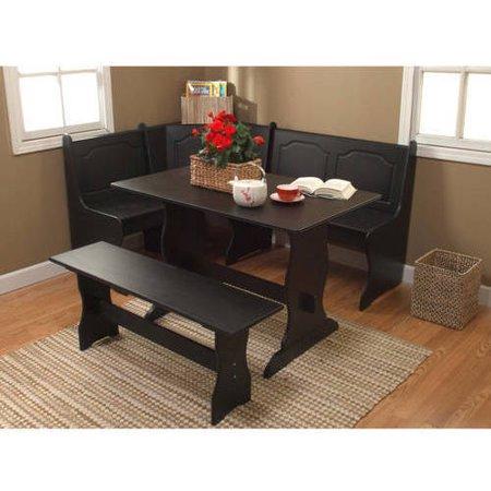 Walmart – Breakfast Nook 3-Piece Corner Dining Set Only $279.96 (Reg $299.96) + Free Shipping