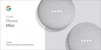 Walmart – Google Home Mini – Chalk Only $58.00 (Reg $78.00) + Free 2-Day Shipping