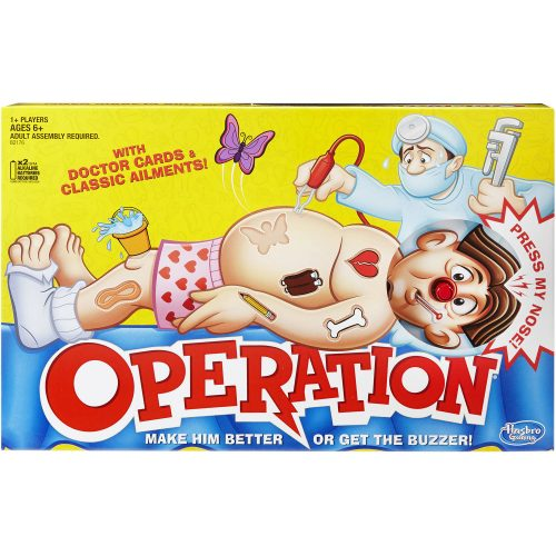 Walmart – Classic Operation Game Only $13.44 (Reg $19.99) + Free Store Pickup