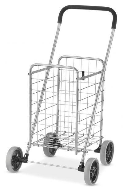 Walmart – Whitmor Rolling Utility Cart Silver / Black Only $30.91 (Reg $33.56) + Free Store Pickup