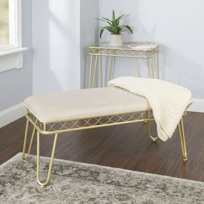 Walmart – Better Homes and Gardens Mirabella Bench Only $69.99 (Reg $100.00) + Free 2-Day Shipping