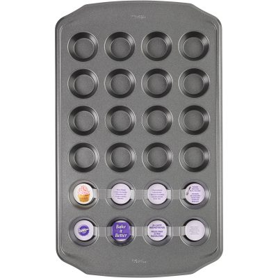 Walmart – Wilton Bake It Better 24-Cavity Mini Muffin Pan Only $5.00 (Reg $7.97) + Free Store Pickup