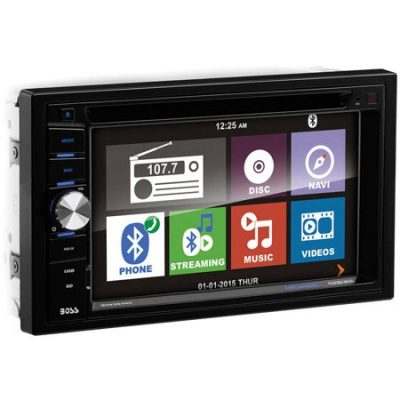 Walmart – Boss Audio BV9384NV Bluetooth Double-DIN DVD Player Only $149.00 (Reg $172.99) + Free 2-Day Shipping