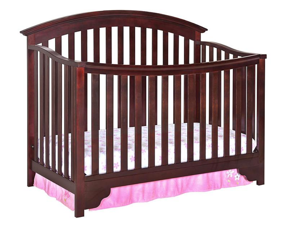 Delta Children Black Cherry Espresso Sonoma 4-in-1 Convertible Crib Only $102.37, Reg $249.99 + Free Shipping!