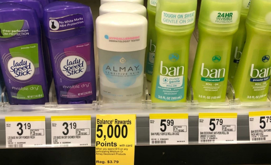 Walgreens – Almay Deodorant Only 54¢ Each (Print Your Coupon Now!)