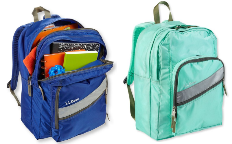 L.L.Bean Deluxe Book Bag/Pack Only $14.99, Reg $39.95