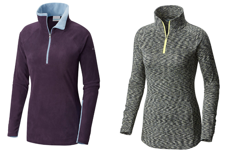 Columbia – Up to 70% Off Sale + Free Shipping! Women's Half Zip FleeceOnly $15.92, Reg $44.99!