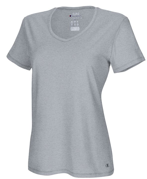 OneHanesPlace.com – Champion Authentic Women's Jersey V-Neck Tee Only $3.99, Reg $15.00 (XLarge Only) + Free Shipping!