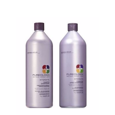 Walmart – Pureology Hydrate Shampoo And Conditioner Liter Set Only $77.00 (Reg $132.00) + Free 2-Day Shipping