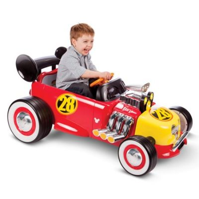 Walmart – Disney Mickey Roadster Racer 6-Volt Battery-Powered Ride On by Huffy Only $99.00 (Reg $149.00) + Free 2-Day Shipping