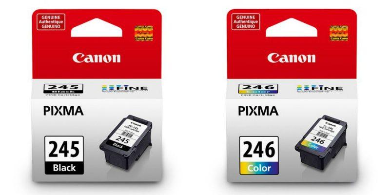 Walmart – Canon PG-245 Black and CL-246 Tri-Color Inkjet Print Ink Cartridges Value Bundle Only $34.00 (Reg $40.00) + Free Store Pickup