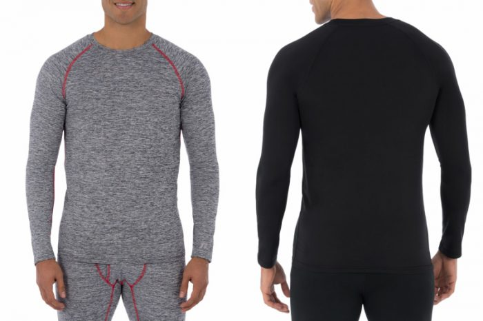 Walmart – Russell Big Mens L2 Active Base Layer Thermal Crew Shirt Only $10.00 (Reg $12.00) + Free Store Pickup