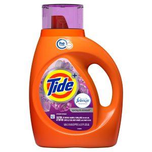 Walmart – Tide plus Febreze Liquid Laundry Detergent Only $5.24 (Reg $6.31) + Free Store Pickup