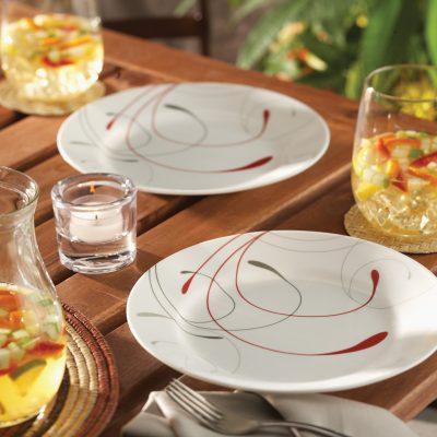 Walmart – Corelle Livingware Splendor 16-piece Dinnerware Set Only $31.97 (Reg $46.69) + Free Store Pickup