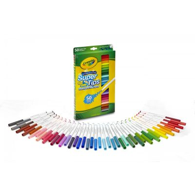 Walmart – Crayola Super Tips Washable Markers Only $6.99 (Reg $12.99) + Free Store Pickup