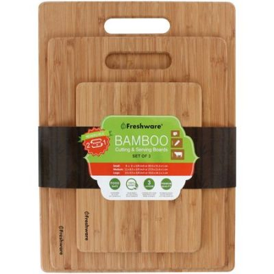 Walmart – Freshware Bamboo Cutting Boards Only $10.99 (Reg $29.99) + Free Store Pickup