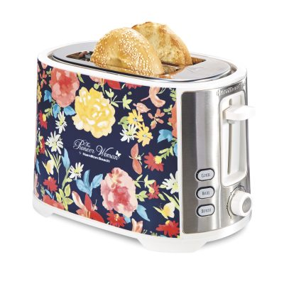 Walmart – Pioneer Woman Extra-Wide Slot 2 Slice Toaster (Fiona Floral) Only $24.99 (Reg $39.96) + Free Store Pickup!