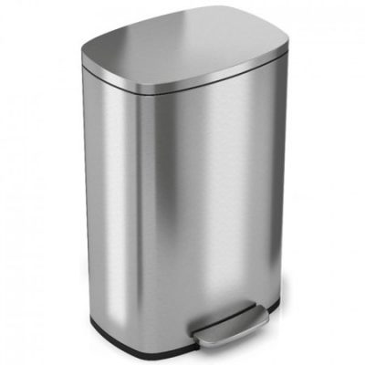 Walmart – iTouchless SoftStep 13.2 Gallon Stainless Steel Step Trash Can Only $79.34 (Reg $88.16) + Free Shipping