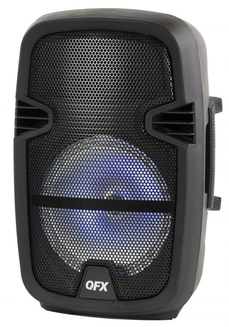 Walmart – QFX 8-in Portable Party Bluetooth Loudspeaker with Microphone & Remote Only $36.99 (Reg $59.99) + Free 2-Day Shipping