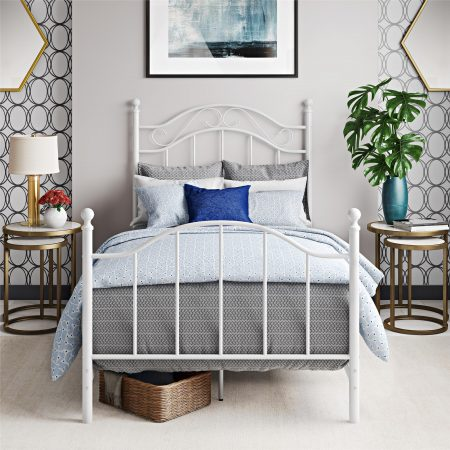 Walmart – Mainstays Traditional Metal Bed Only $79.00 (Reg $99.00) + Free Shipping