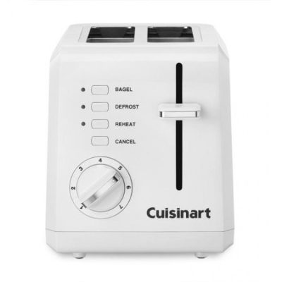 Walmart – Cuisinart 2-Slice Compact Plastic Toaster Only $25.31 (Reg $55.00) + Free Store Pickup