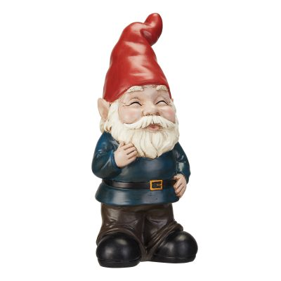 Walmart – Mainstays Blushing Outdoor Garden Gnome Statue Only $14.23 (Reg $15.81) + Free Store Pickup