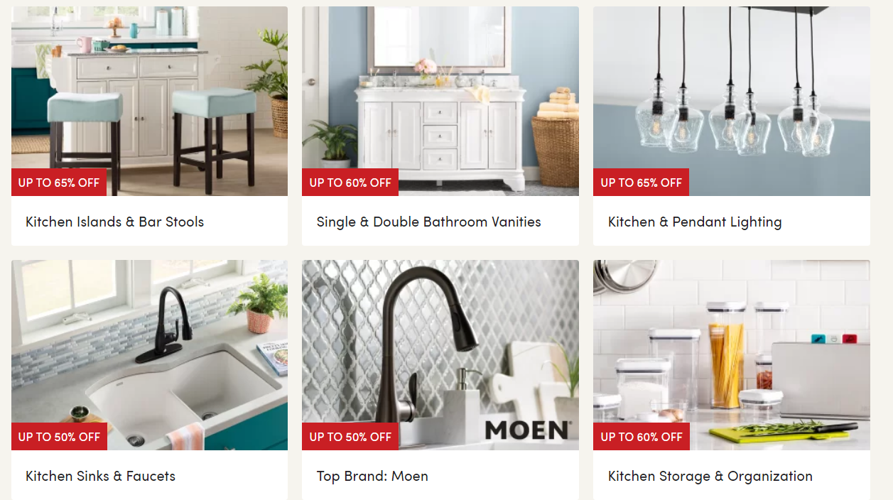 Wayfair.com – Save Up To 70% on Furniture and Decor