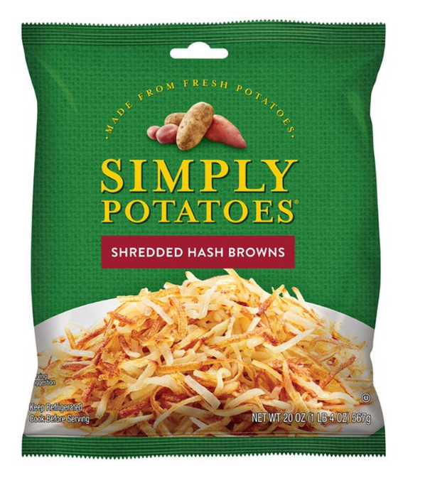 Publix – Simply Potatoes, 20 oz Bag Only 58¢ each After Printable Coupon (Print Your Coupons Now)