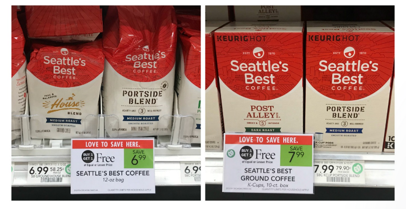 Upcoming Publix Deal – Seattle's Best Coffee Only $2.50 (12 oz Bag) – PRINT YOUR COUPONS NOW!