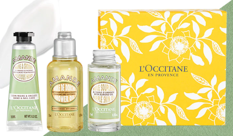 L'Occitane.com – Shea Orange Blossom Balm + Almond Delicious Soap + Free Almond Body Smoothing Gift Set Only $11.00 Shipped!