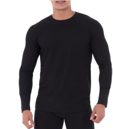 Walmart.com – Fruit of the Loom Men's Heavyweight Thermal Undershirt Only $4.99, Reg $12.00