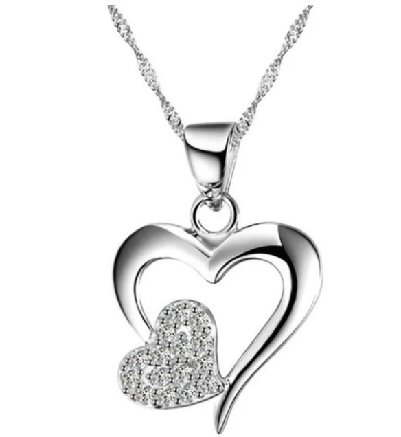 Amazon – Love Heart Pendant Necklace Only $2.60 Shipped! Great Mother's Day Gift!