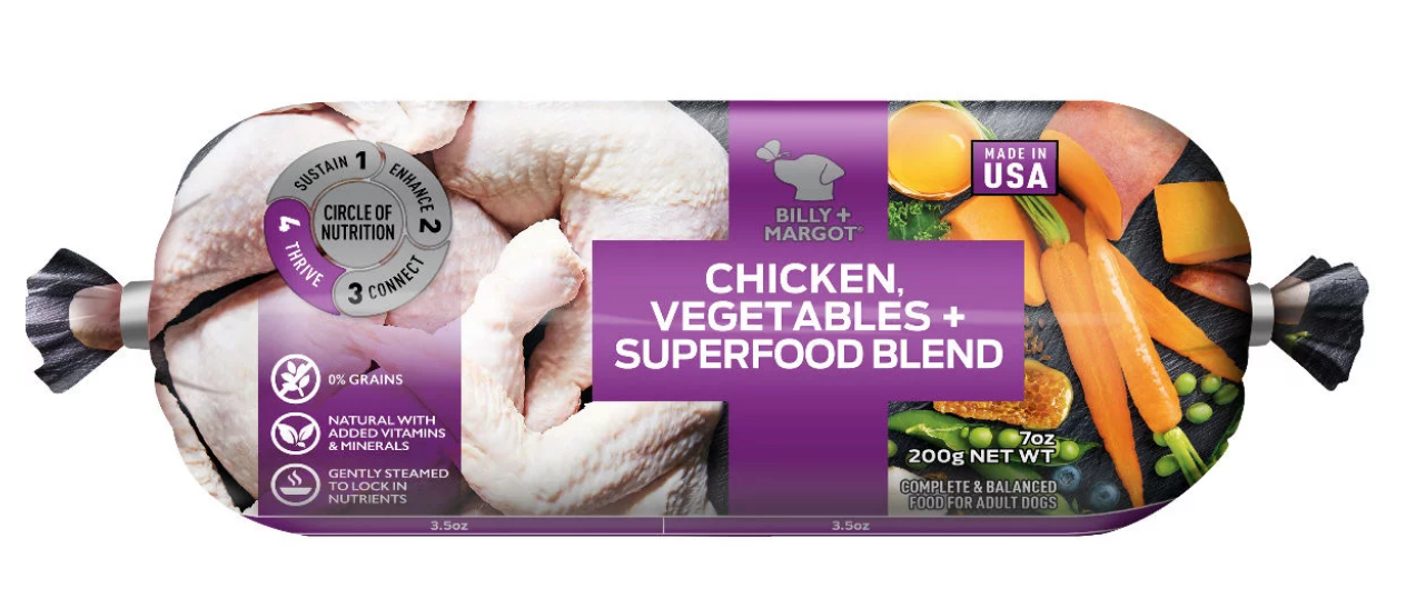 Free Billy + Margot Dog Food Roll & $5 Coupon