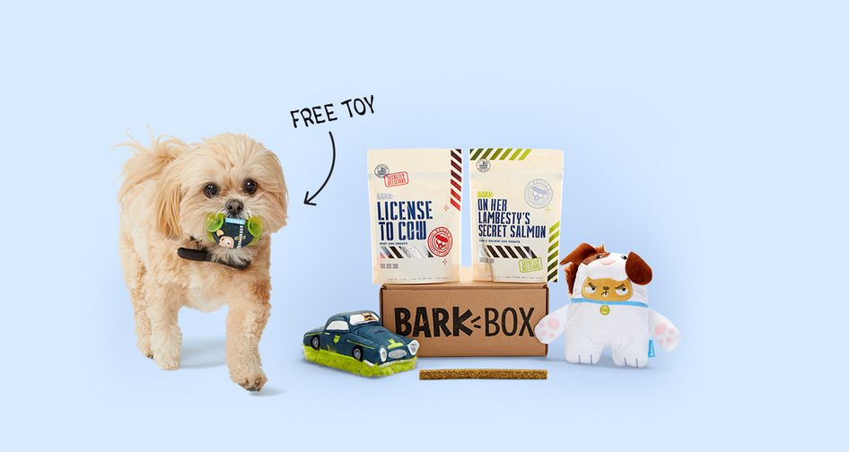 Barkbox – 6 FREE Extra Toys w/Order + Free Shipping!