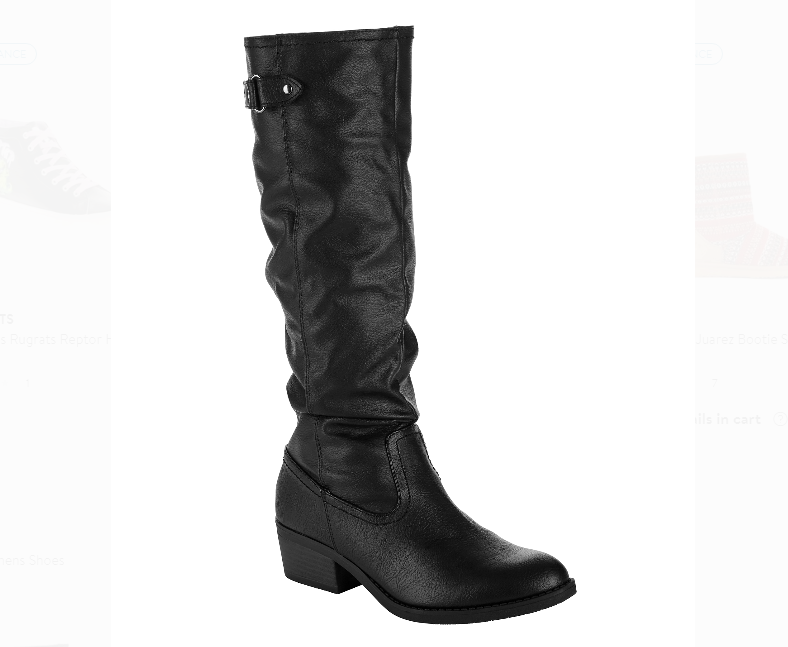 Walmart – Time & Tru Women's Slouch Boots Possibly Only $5, Regularly $30