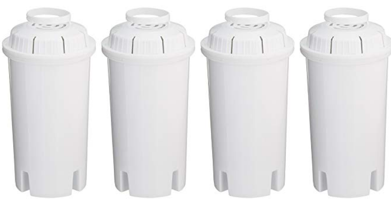 Sapphire Replacement Water Filters, for Sapphire, Brita and Pur Pitchers, 4-Pack Only $10.88, Reg $19.99
