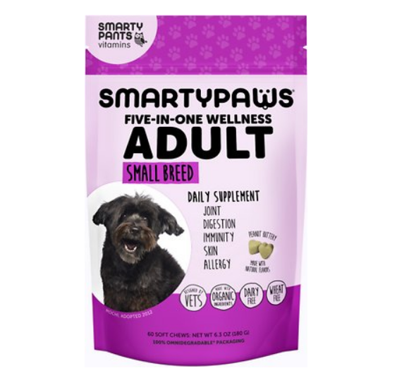 Free SmartyPaws Dog Supplement Sample