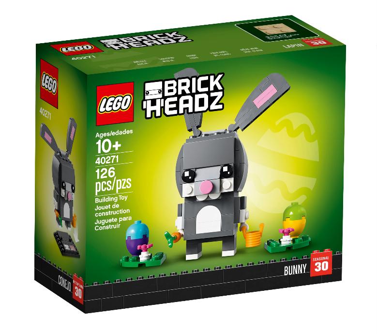 Walmart.com OR Amazon – LEGO BrickHeadz Easter Bunny Kit Only $7.99, Reg $9.99 + Free Store Pickup!