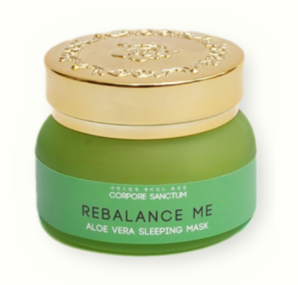 Free Sample Corpore Sanctum Aloe Vera Rebalance Sleeping Mask