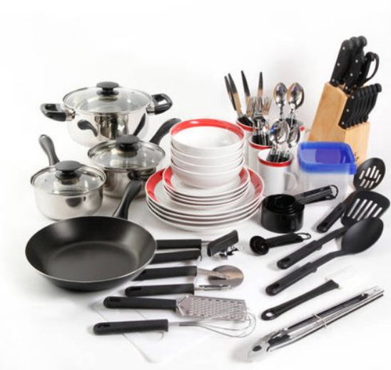 Walmart – Gibson Home Essential Total Kitchen 83-Piece Combo Set Only $54.95 (Reg $69.97) + Free Shipping!