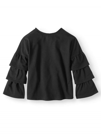 Walmart – Derek Heart Ruffle Sleeve French Terry Top (Big Girls) Only $4.00 (Reg $11.88) + Free Store Pickup