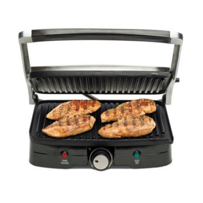 Walmart – Hamilton Beach Indoor Grill with Panini Press Only $24.47 (Reg $39.99) + Free Store Pickup