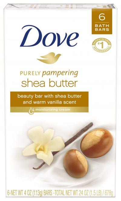 Walmart – Dove Shea Butter Beauty 6 Bar Only $6.49 (Reg $7.49) + Free Store Pickup