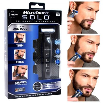 Walmart  –  As Seen on TV MicroTouch Solo, All-in-one Rechargable Shaver Only $19.88 (Reg $24.88) + Free Store Pickup