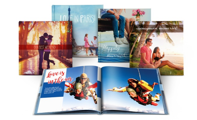 One 8×8″ Personalized 40 Page Hard Cover Photo Book Only $5.00