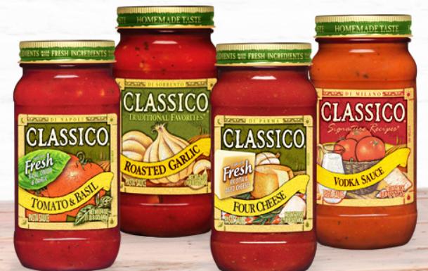 Publix – Classico Pasta Sauce Only 75¢ each