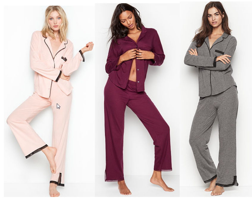 Victoria's Secret Sleepover Knit PJ Only $15, Reg $54.50