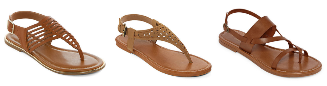 JCPenney.com – Buy One, Get Two FREE Women's Sandals